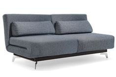 Apollo Grey Modern Futon Sofabed Sleeper The Convertible Will Become