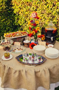 Vintage Tuscan Party