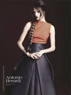 Brave New Look | Nicole Bentley #photography | Vogue Australia August 2012