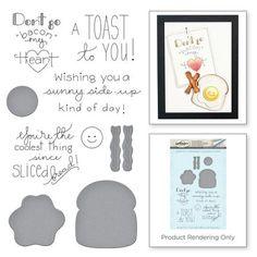 The Breakfast Club Love Set Match by Debi Adams Stamp and Die Set