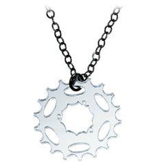 Clear Spoken Word Bike Necklace Body Candy. $9.99
