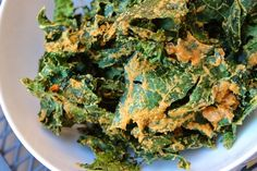 """""""Cheezey"""" Kale Chips 
