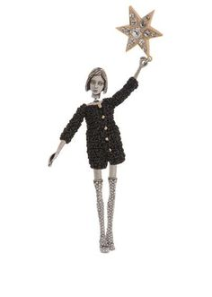 Poetic Couture Figurines - Servane Gaxotte's Jewel Dolls are for Big Girls with Mature Style (GALLERY)