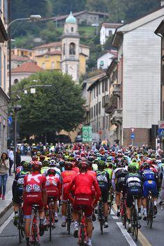 110th Il Lombardia 2016 Start / COMO City / Church / Peloton / Fans / Public / Como Bergamo / Il Lombardia / Tim De Waele