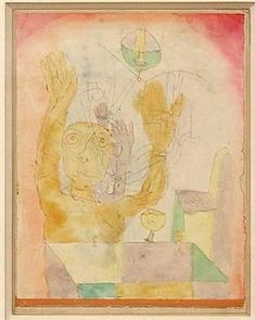 Enlightenment of two Sectie - Paul Klee 1918