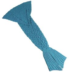 Amazon.com: AIGUMI Handmade Knitted Mermaid Tail Blanket ,Warm Sofa Quilt Living room blanket for Adults and Kids 190cmX90cm(74.8 inch x35.4 inch ) (Lake Blue): Bedding & Bath