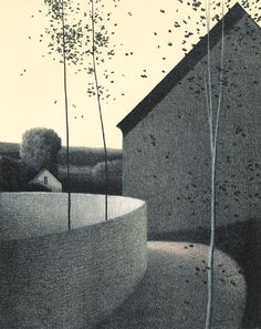 """""""Curved Path""""  Color lithograph 1973"""