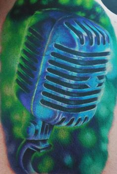 The shading and color on this is amazing! #music #tattoo