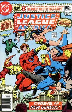 Justice League of America Series) August 1980 DC Comics Grade VG Old Comic Books, Vintage Comic Books, Comic Book Covers, Vintage Comics, Comic Book Heroes, Justice League, Superhero Groups, Justice Society Of America, Nostalgia