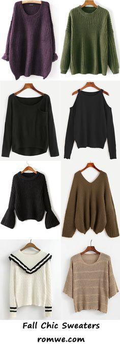 fall sweaters 2017 - romwe.com