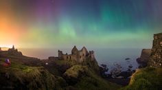 Dunluce Castle Northern Ireland.  #amazing_places_to_visit #travel  #vacation  #instatravel #tourist #trip #amazing