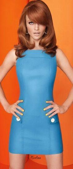 It's a Mod...Mod world sixty inspired fashion with Cintia Dicker.