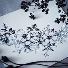 Свободен 🌸🌾#flowers #sketch #artmagazine #artwork #artgalery #worldofartists #art_spotlight #sketch_daily #flowers #drawing #artgalaxies #whichinkilike #art_empire #art_we_inspire #blacktattooart #blackworkers #blxckink
