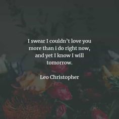 70 Wedding quotes for couples with pure heartfelt love. Here are the best wedding quotes to read that will give you a love message idea that. Writing Wedding Vows, Vows Quotes, Best Wedding Quotes, Leo Christopher, Find A Song, Everlasting Love, Day Of My Life, You Are Perfect, Joy And Happiness