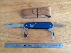 Swiss Army Knife Alox Blue special edition.