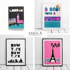 Prints by Angie B.
