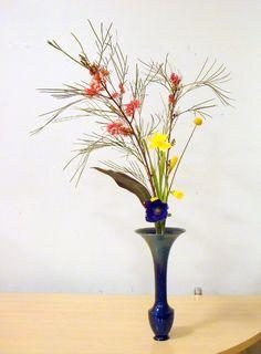 Ikenobo rikka Ikebana Flower Arrangement, Flower Arrangements, Muromachi Period, 15th Century, Ancient Art, Japanese Art, Traditional, Landscape, Create