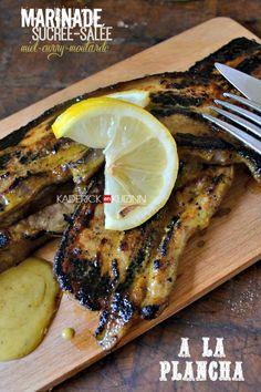 Plancha porc - Recette poitrine de porc à la plancha et marinade au curry