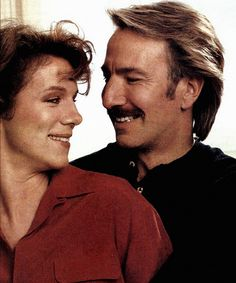 """Alan Rickman and Juliet Stevenson in """"Truly Madly Deeply"""" 1990"""