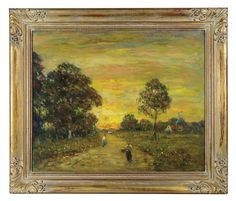 Lot 115: Landscape Oil by J.H. Condon. On website. Labeled as coming from my house. On hand-written receipt.