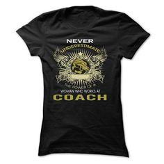 I work at COACH T-Shirts, Hoodies, Sweatshirts, Tee Shirts (22.99$ ==► Shopping Now!)