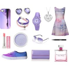 """""""Summer Nights"""" by hallie-hopper on Polyvore"""