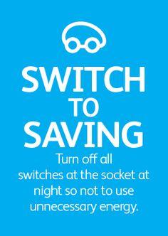 Switch to saving