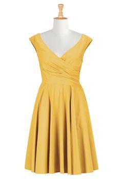 Clothes For Curvy Women , Bridesmaids Shop womens long sleeve dresses - Women's Dresses & Tops in Misses, Plus, Petite & Tall | eShakti.com