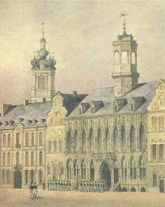 Artis Historia - Steden van België - Bergen - 1989