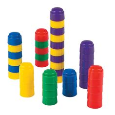 Colorful Counting Stacker Blocks - OrientalTrading.com