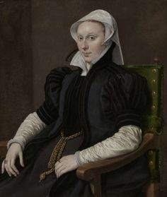 "classic! ""Portretten van Sir Thomas Gresham en Anne Fernely,"" Antonio Moro, ca. 1560 - ca. 1565"