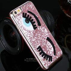 3D Big Eye Glitter Case for iPhone 5 5S and iPhone 6 6s