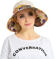 Introducing Bienvenu Womens UV Sun Protection Sunhat Wide Brim Beach Hat 2 Use Beige. Great Product and follow us to get more updates!