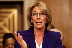 WASHINGTON (AP) — The Senate on Tuesday confirmed school choice advocate Betsy DeVos as Education secretary by the narrowest of margins, with Vice President Mike Pence breaking a 50-50 tie in a historic vote.