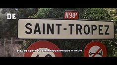 Le gendarme de Saint-Tropez (1964) movie title #french #stuff