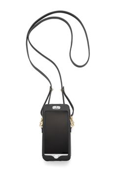 M.A.C. Phone Crossbody - Featuring a screen display pocket, two card slots and a snap closure, carry this soft leather case by hand or opt for the adjustable strap for hands free. Compatible with iPhone 6 and Galaxy S6. Please note this item is on preorder and will be available to ship on or before October 1st, 2015