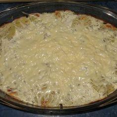 Egy finom Kapros-túrós rakott krumpli ebédre vagy vacsorára? Kapros-túrós rakott krumpli Receptek a Mindmegette.hu Recept gyűjteményében! Grains, Rice, Food, Eten, Seeds, Meals, Korn, Diet