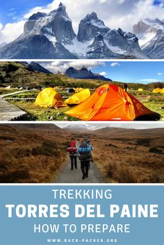 How to prepare for trekking in Torres del Paine, Chile. Packing tips, important gear, when to go, how to budget, route options and more. Complete Patagonia trekking guide. | Back-Packer.org