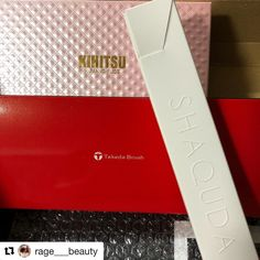 #Repost @rage___beauty (@get_repost)  My 1st parcel in 2018. Thank you @fudejapan and the many tidbits n samples.. #unboxing #makeup #makeupaddict #takeda #kihitsu #annecy #shaquda #化粧品 #美容 #今日のメイクアップ #메이크업 #maquillage #maquillaje #ragevonne #ragevonnebeauty #japancosmetics #makeupbrush