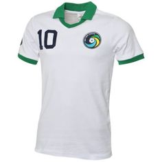 New York Cosmos Football Uniforms, Football Kits, Football Jerseys, New York Cosmos, Classic Football Shirts, Vintage Shirts, Polo Ralph Lauren, Sporty, Mens Fashion