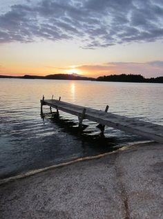 Finland; taken at 9PM; Midsummer's Night Beyond The Horizon, Night Swimming, Birches, Marimekko, Lake Michigan, Archipelago, Summer Nights, Summer 2016, Seaside