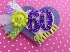 Birthday Age badge- Personalised £4.00