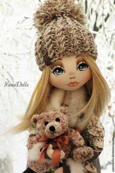 Ирэн - бежевый,кукла ручной работы,кукла,кукла в подарок,кукла интерьерная