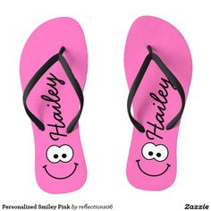 Personalized Smiley Pink