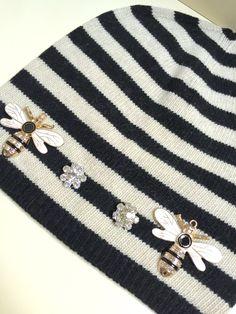 Luxury Striped cap