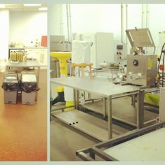 From the kitchen to the manufacturing unit; A mini bottle line for Percy's at the National Center for Food Manufacturing. Food Manufacturing, Fruit Tea, Mini Bottles, Desk, Kitchen, Scale, Furniture, Home Decor, Weighing Scale