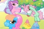 Ponyland Decoration Mlp Games, My Little Pony Games, Colorful Trees, Beautiful Day, Decoration, Fictional Characters, Decor, Decorations, Decorating
