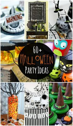 60+ Halloween Party Ideas