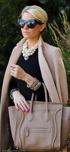 Cool Weather Street Style Everything but that pink nail polish