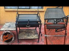 Cheap Pergola For Sale Folding Furniture, Diy Furniture Couch, Metal Furniture, Barbeque Design, Grill Design, Diy Welding, Welding Projects, Patio Garden Ideas On A Budget, Diy Grill